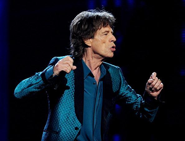 Mick Jagger Performs at GRAMMYs