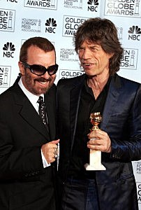 Mick Jagger and Dave Stewart