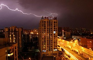 Beijing lightning During The Olympic Games