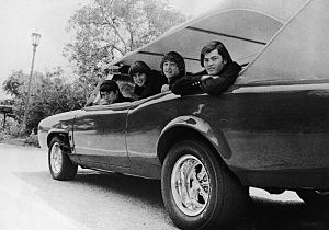 Four Monkees In A Car