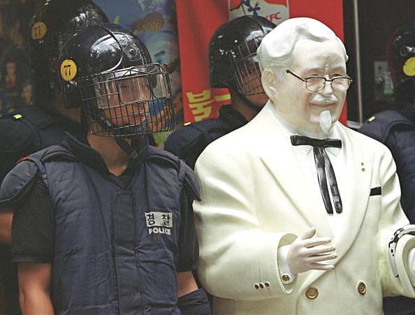 KFC Raw Chicken