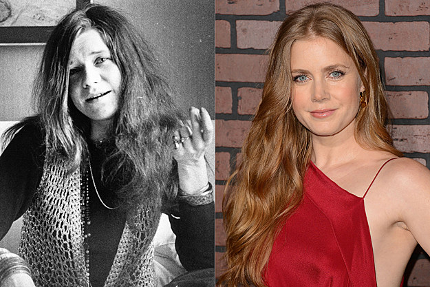 Amy Adams as Janis Joplin
