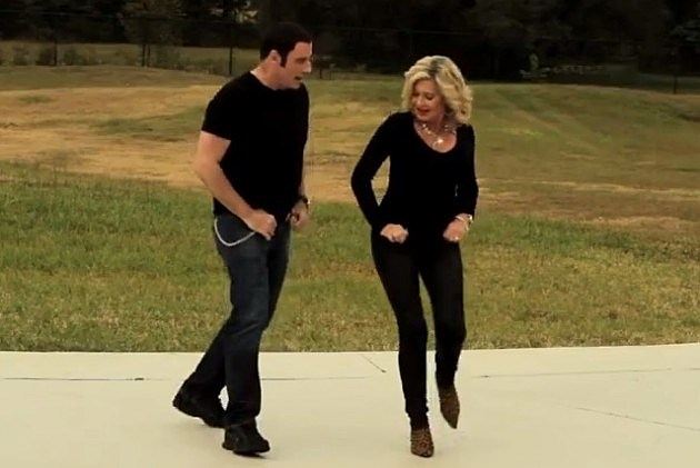 John Travolta And Olivia Newton-John
