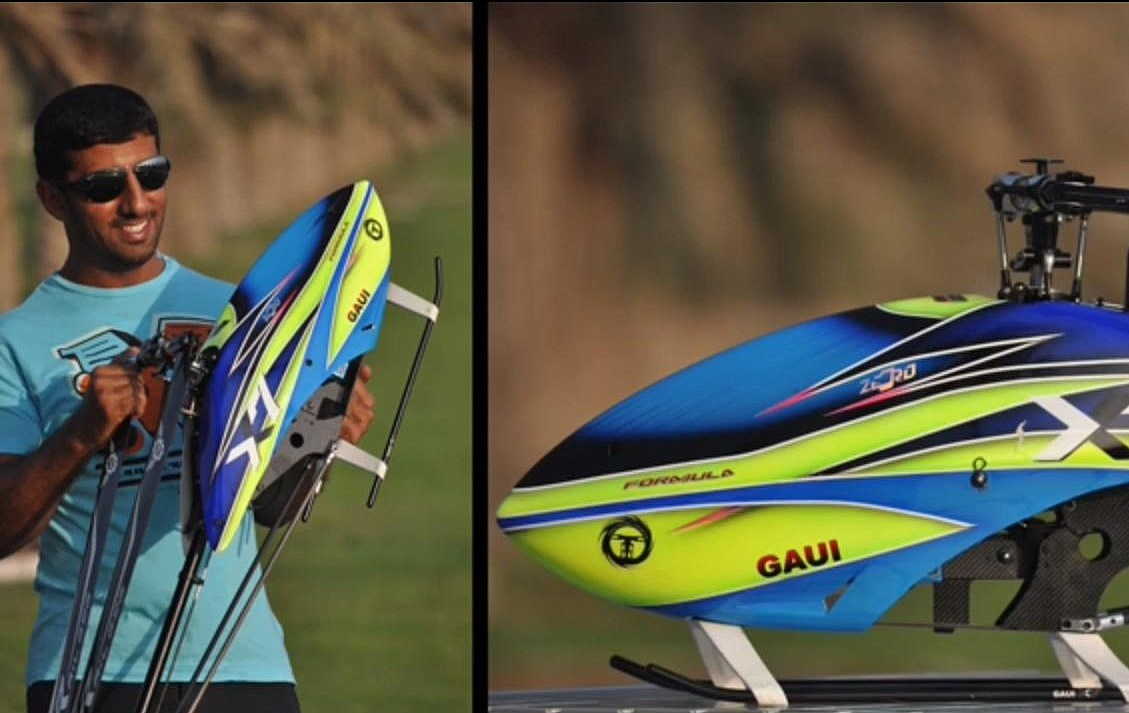 Watch Tareq Alsaadi Do Insane And Amazing Stunts With His 'Gaui X7 Formula' RC Helicopter