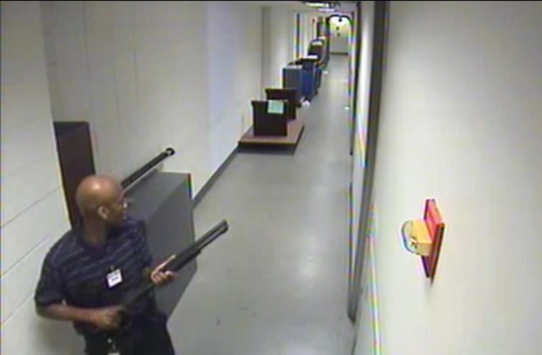 Watch FBI Video Footage Of Shooter Aaron Alexis At The Washington Navy Yard
