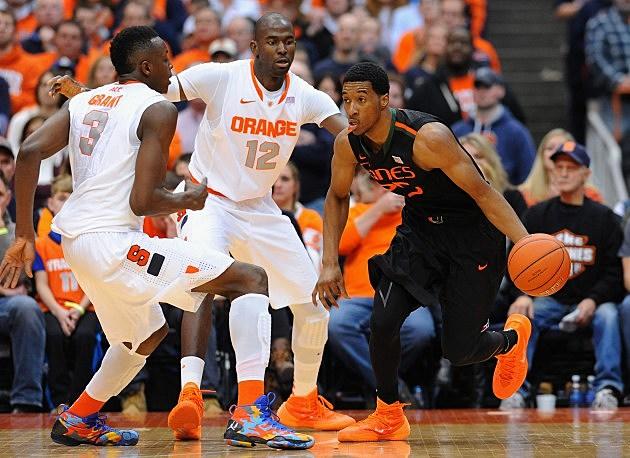 Syracuse Basketball vs. University of Miami