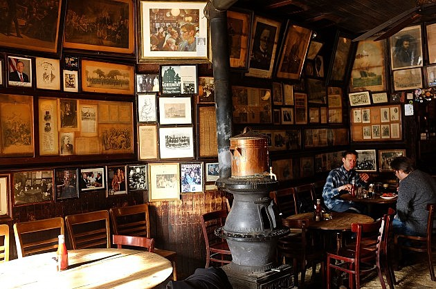 McSorley's Old Ale House interior