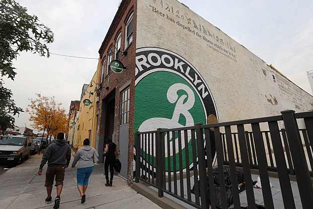 Brooklyn Brewery building