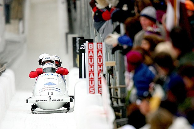 Bobsled in Lake Placid