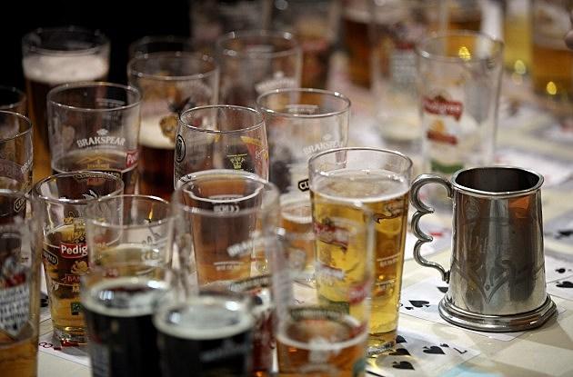Glasses Of Ale