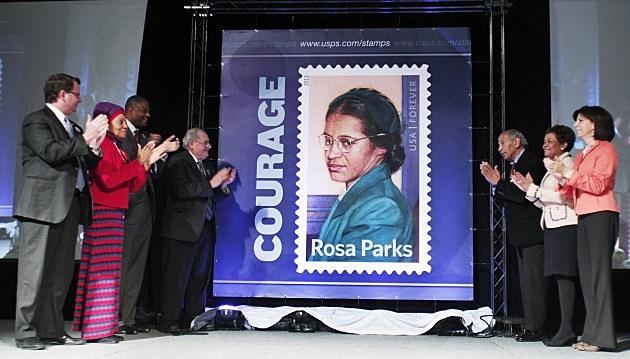 Rosa Parks postage stamp