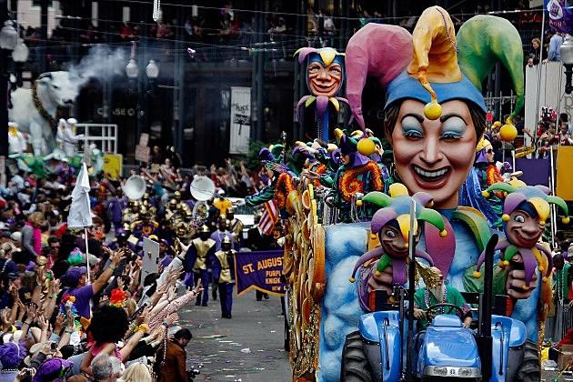 Mardi Gras Parade Jester
