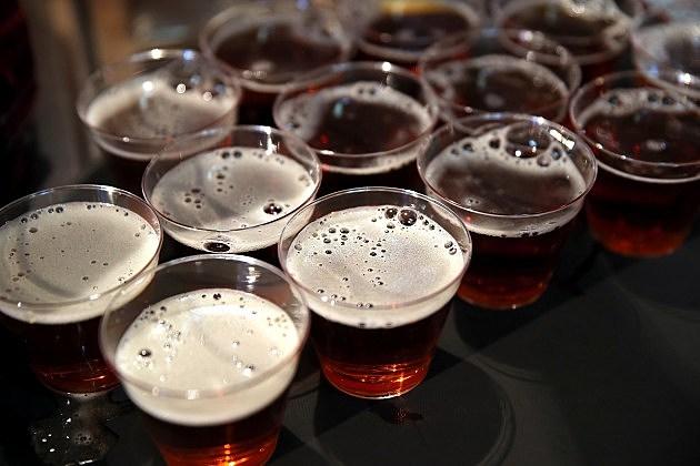 beer in glasses