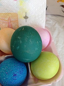 "Real ""Fancy"" Easter Eggs"