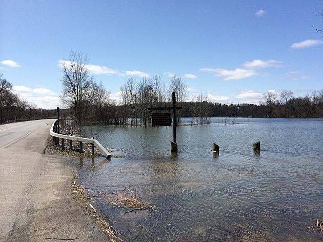 Flooding in Marcy/Oriskany