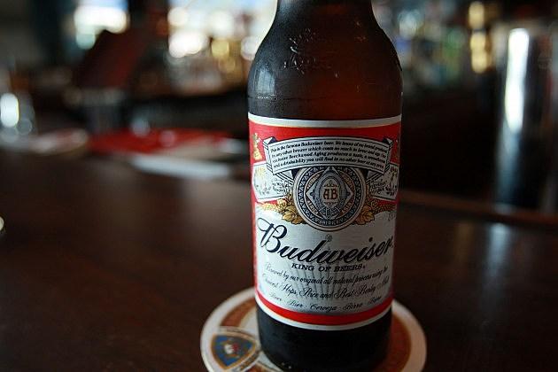Budweiser botle