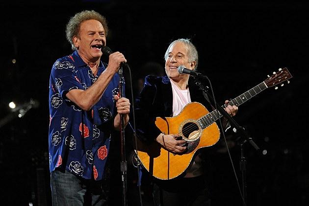 Art Garfunkel with Paul Simon