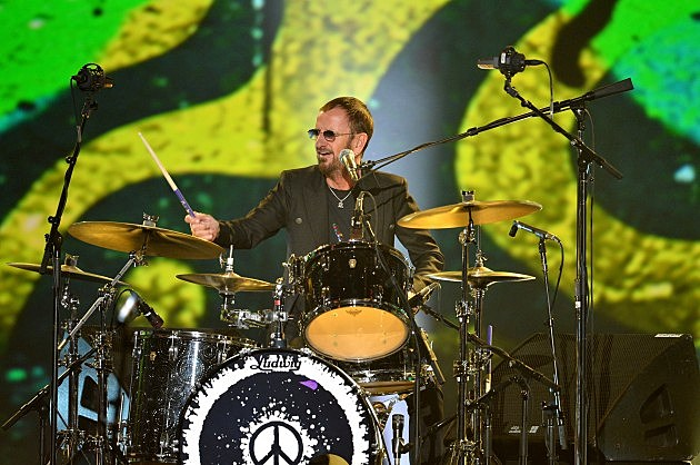 Ringo Starr At Drums