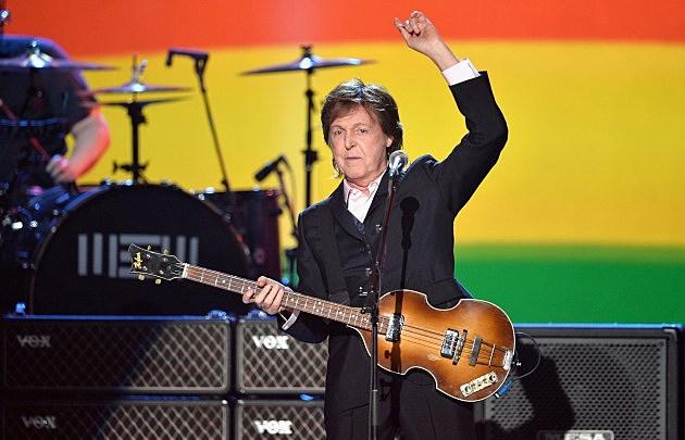 Paul McCartney on stage