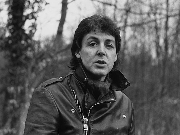 Paul McCartney Black & White