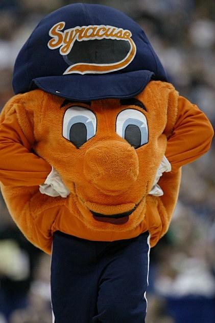 Syracuse Orange Mascot