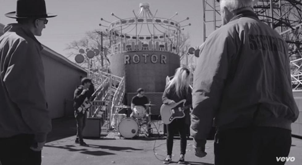 nashville rock band bully makes music video at sylvan beach amusement park