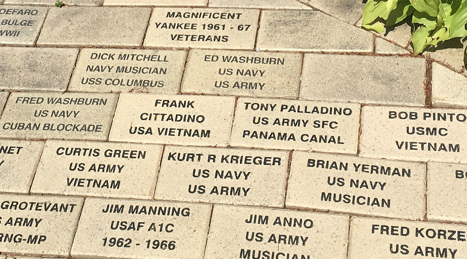 Magnificent Yankees Honor Bricks 2