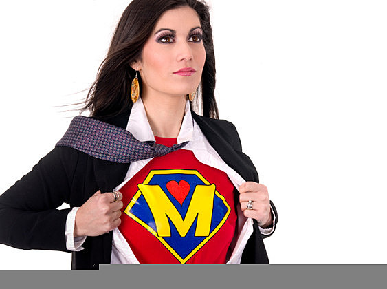 Super Mom Beautiful Female Regular Character Hero Sheds Suit
